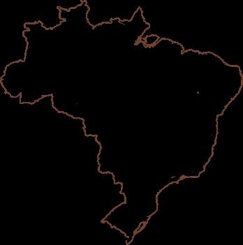 mapa do brasil contorno